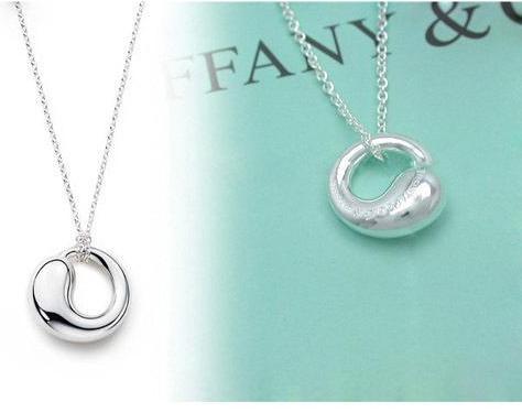 团我最喜欢的TIFFANY925纯银饰品,10元买心扉项链周2截团