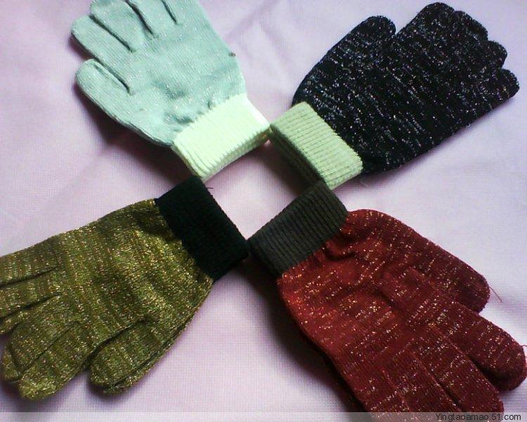 半指手套7色入3元1付 全指手套4色入5元1付 1团开