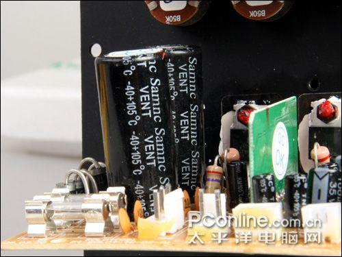 音箱的整个功放电路就有四颗igbt.