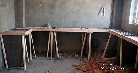 砖砌橱柜制作之全过程图文详解