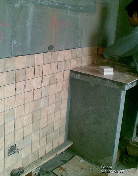 标题: 砖砌橱柜制作之全过程图文详解