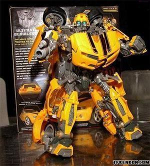 变形金刚大黄蜂玩具 变形金刚大黄蜂海报 变形金刚大黄蜂素高清图片