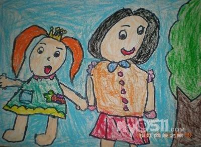 画比赛有4名幼儿得奖了