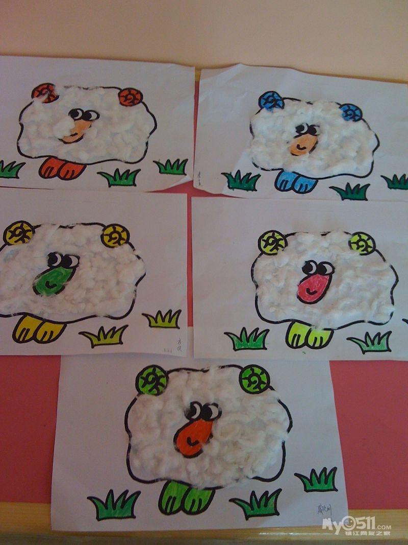 3  注册 08-4-6 行业 教育科研 小班幼儿绘画作品  4月28日  手指点