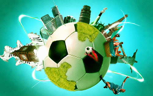 40张动感十足的足球海报设计 - 聚焦足球 - 梦溪