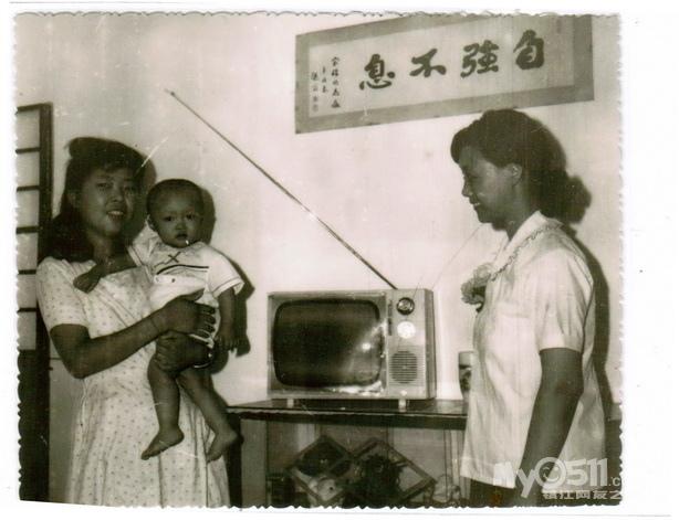 2,组装的14寸黑白电视机.