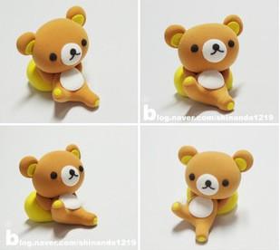 72------橡皮泥捏小熊------又简单又可爱的