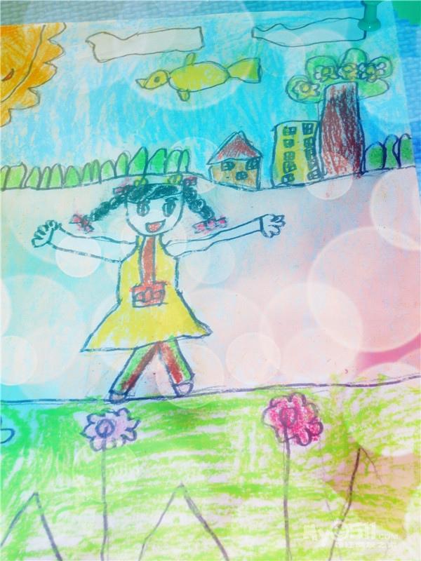 03  梦溪论坛 家有学子 六一幼儿园 03 彩虹绘画