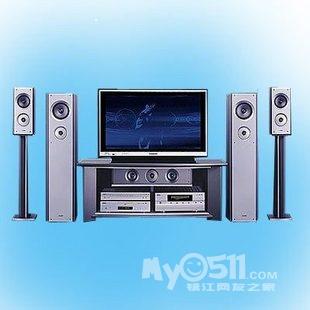 用音箱一套----爱浪家庭影院-x9800感应者及t130音响