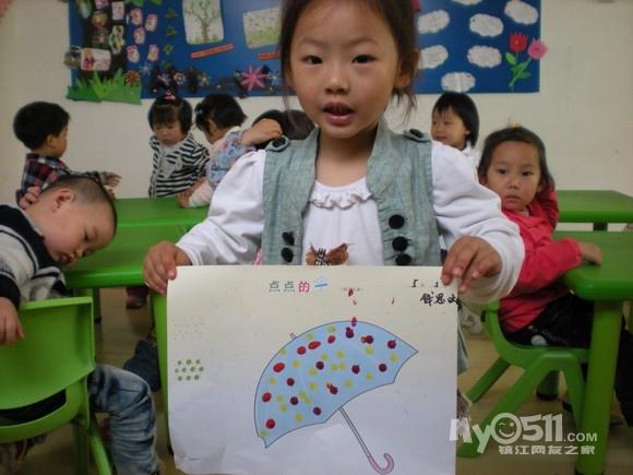 幼儿园涂鸦大苹果