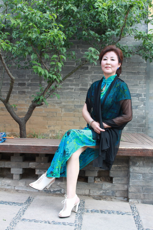 西津渡美女秀旗袍 镜头里的镇江