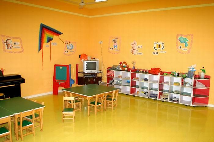 幼儿园教室内二层结构图片