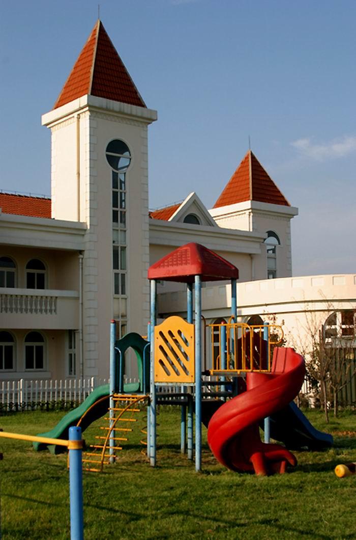 幼儿园中班建筑区域布置
