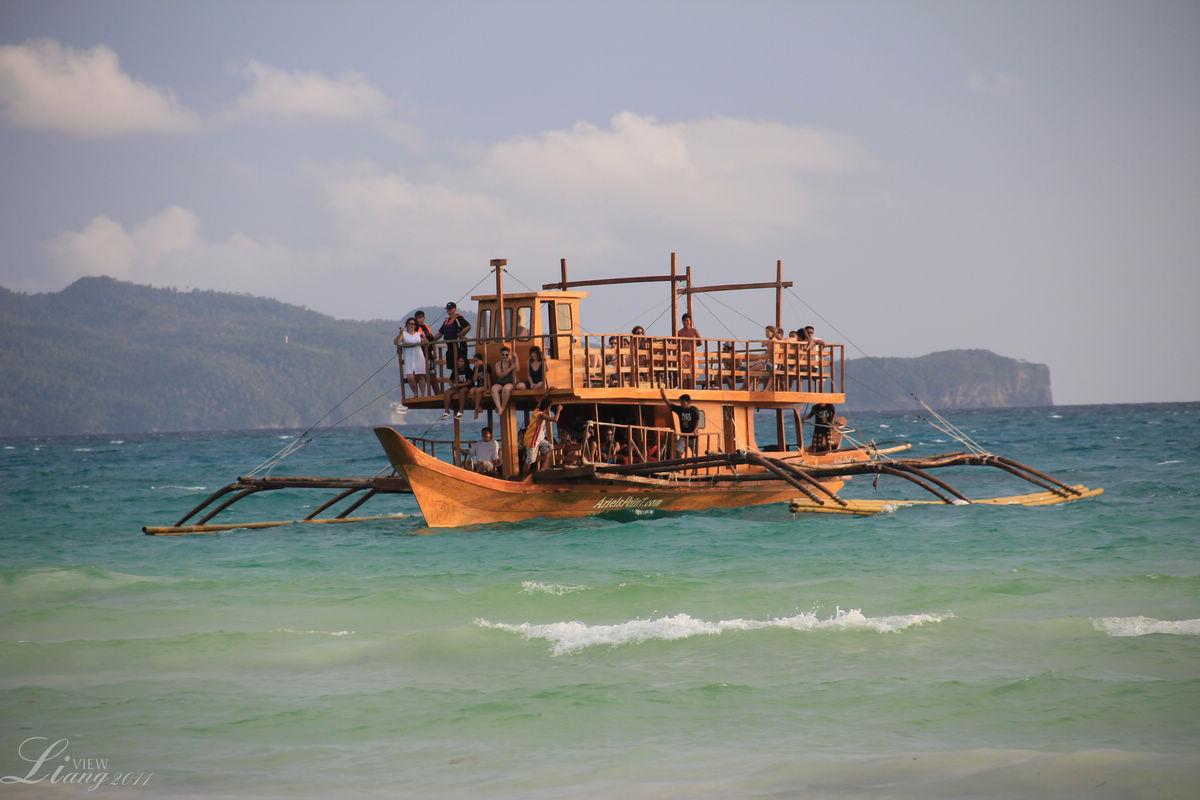 苹果海洋壁纸船