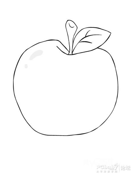 教案/幼儿简笔画图片带颜色/幼儿填色简笔画水果/幼儿简笔画填色蔬菜