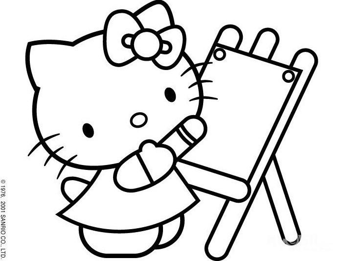 填色画幼儿填色画可打印的幼儿填色画儿童填色画
