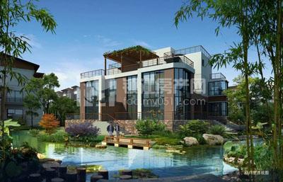0511—83357777    茗园是新中式风格茶韵别墅,该项目位于丹徒图片