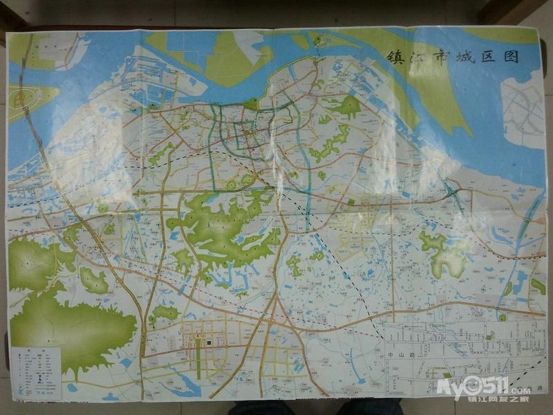 镇江市区交通地图汇总
