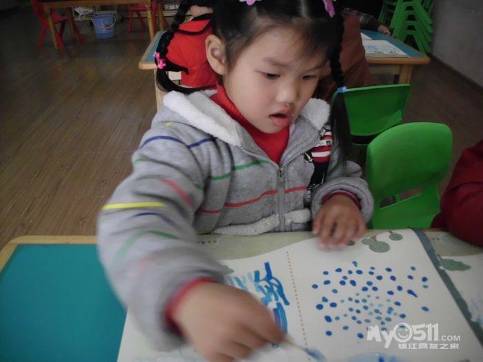 幼儿园手指印画蚂蚁分享展示