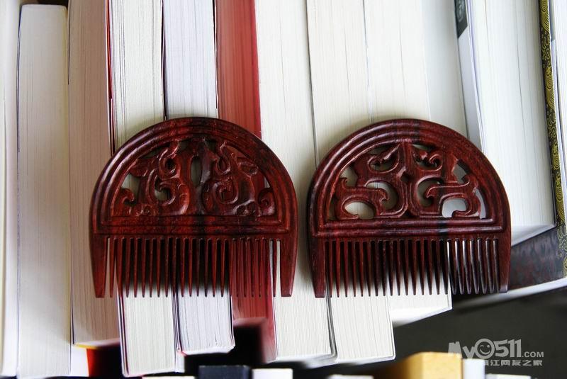 木客全手工制作红木挂件,梳子,发簪等(每天跟帖制作
