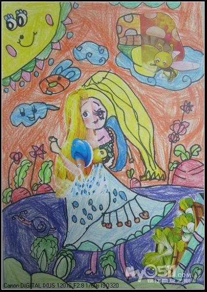 创意儿童画夏天来了-方童画2012夏季班开始报名 -童方童画少儿美术创意中心2012夏开始