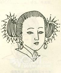 清朝女子的头饰,清朝后宫的头饰,清朝公主的头饰_点 ...