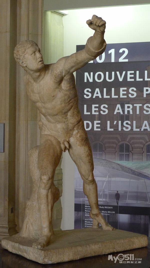 央视播裸体雕像打马赛克