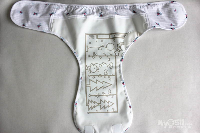 智能100%尿裤套装 预防红pp