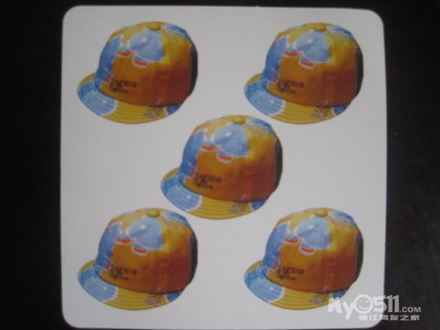 五顶帽子卡通图片
