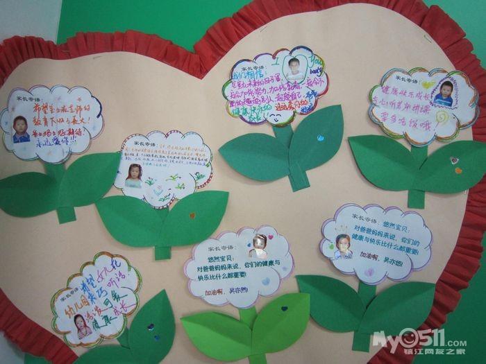 本学期第一个主题《我上幼儿园》的主题墙饰完成喽