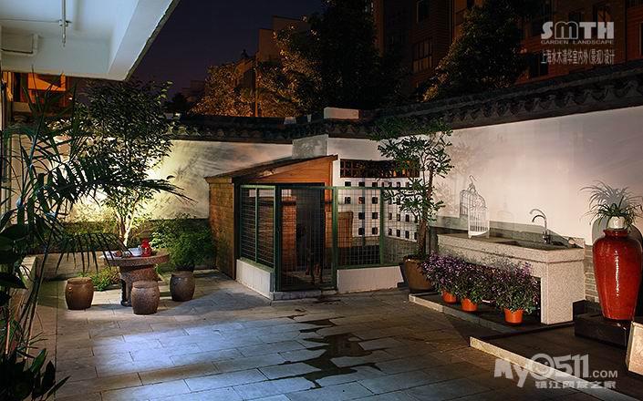 水木清华庭院----------简约中式-----------朴园兰亭苑