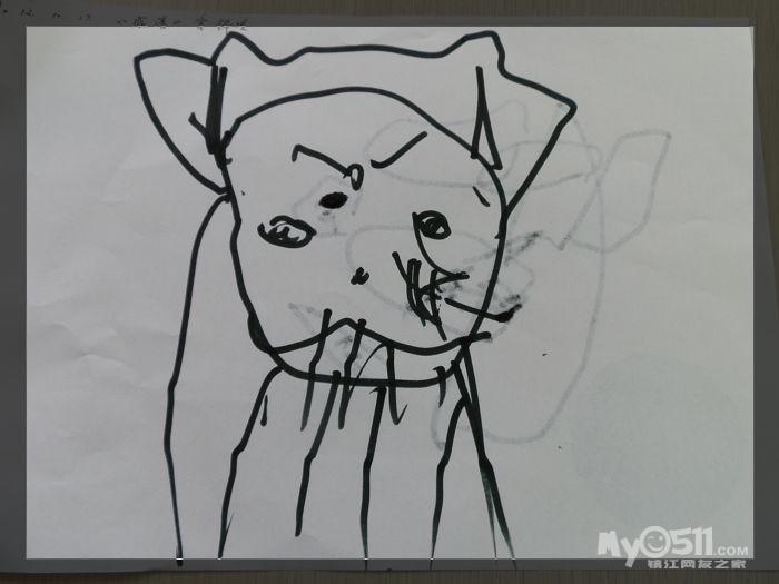 儿童画猴子简笔画大全