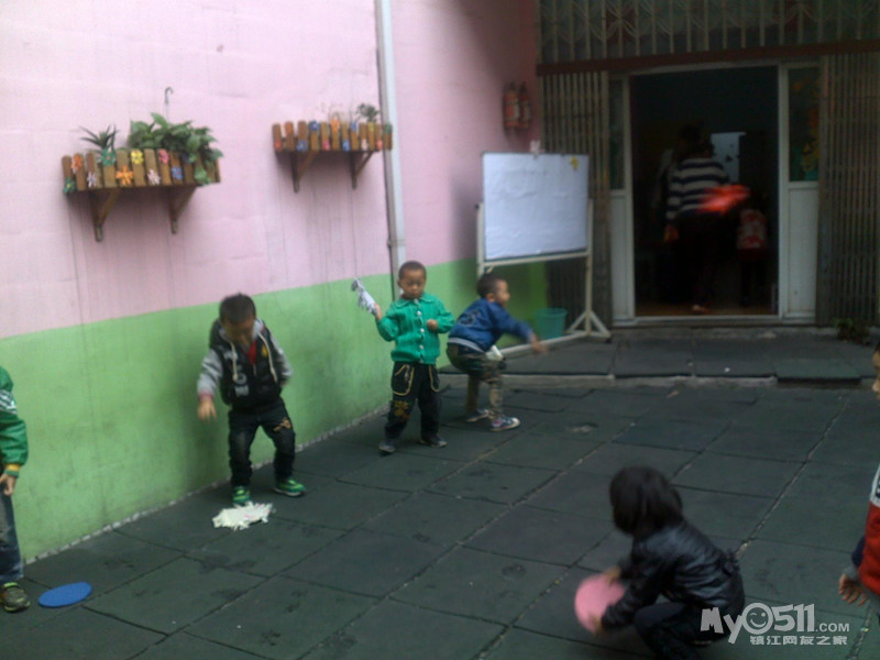 夏天环境:西瓜城堡—幼儿园环境布置图片 幼儿园区域角布置图内容