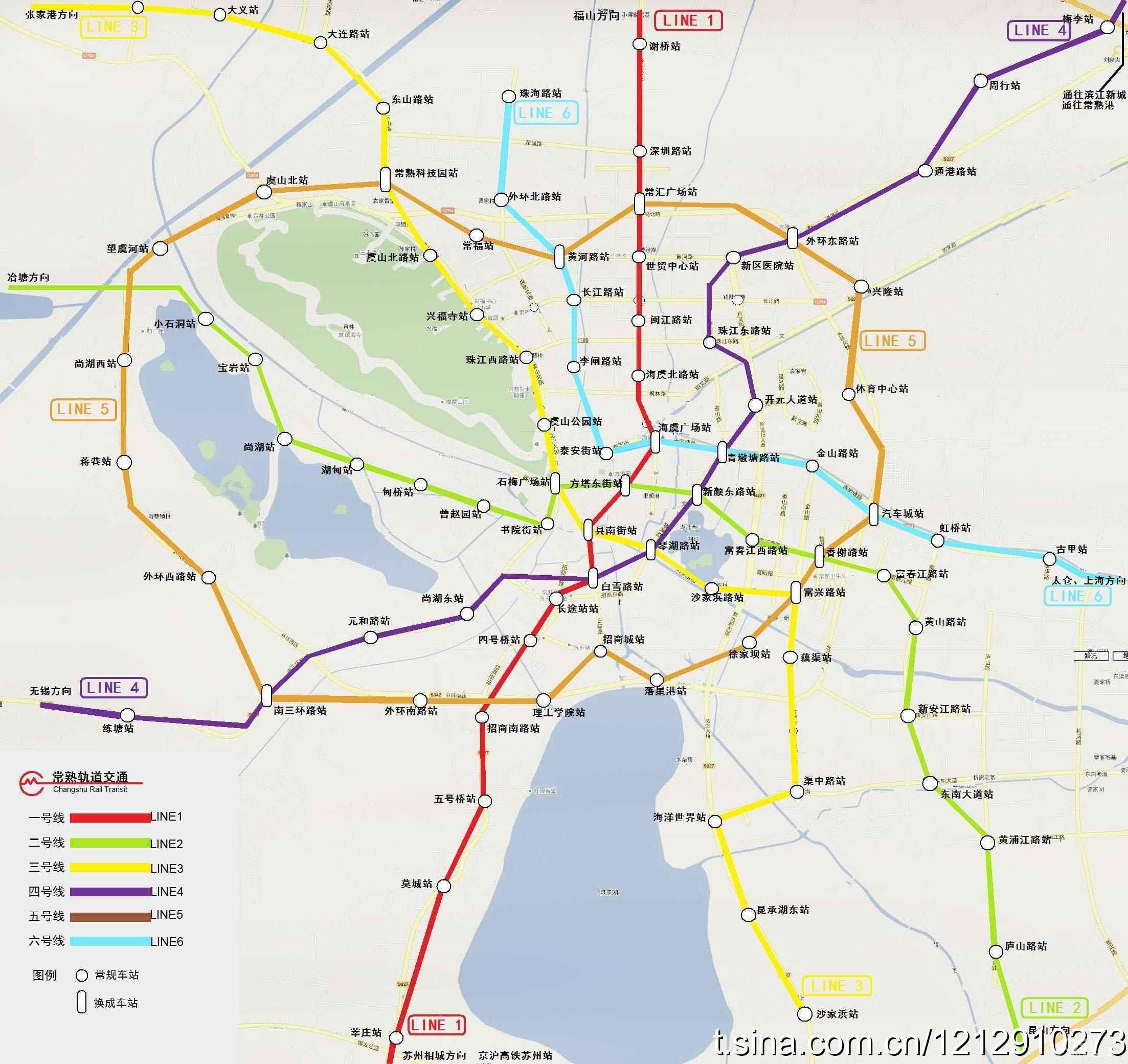 江苏省各市地铁规划图