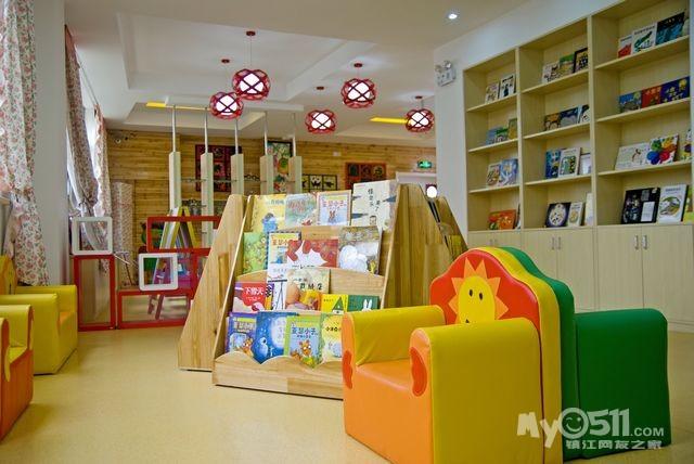 幼儿园图书角温馨设计图