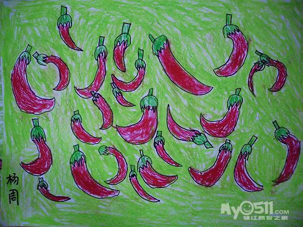 幼儿园中班秋天的图画美术