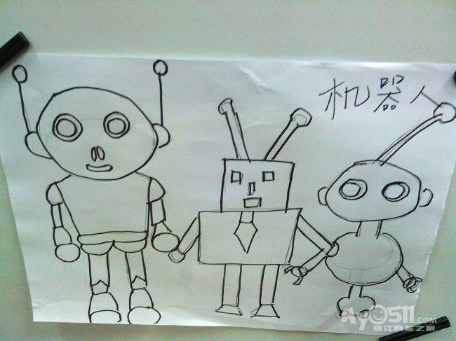 东城绿洲幼儿园 032012年12月diy幼儿绘画室作品
