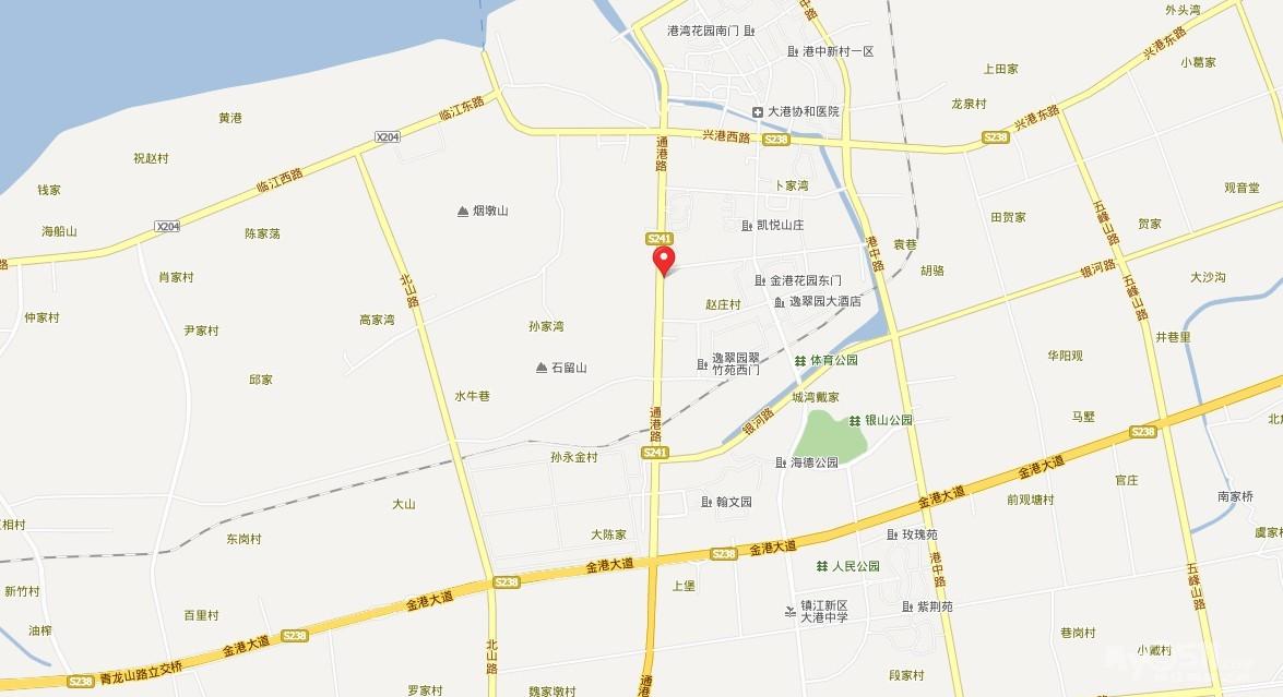 大港东部小区地图