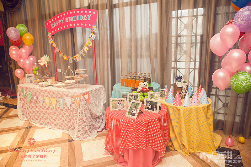 百灵婚典 巴拉拉小魔仙主题 10岁生日宴 新香