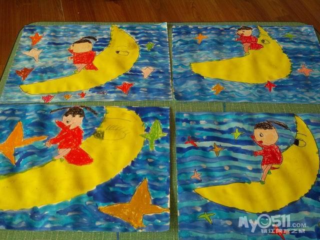 儿童简易画桥的画法_鞭炮的简易画法