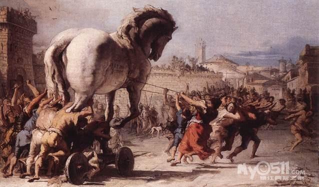 海伦被拐 希腊人视为奇耻大辱