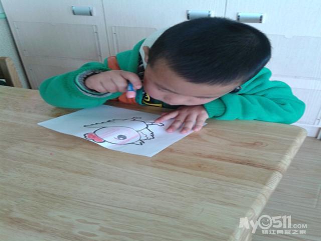 小鸡简笔画有颜色