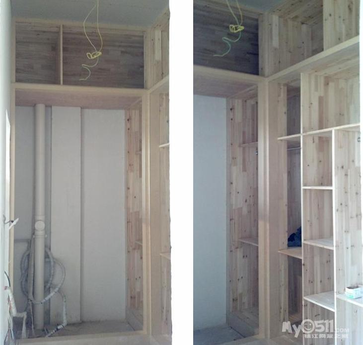 木工柜子转角做法图解