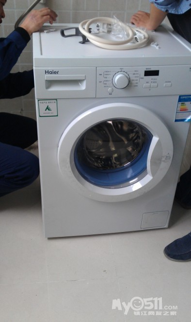 尔洗衣机安装过程