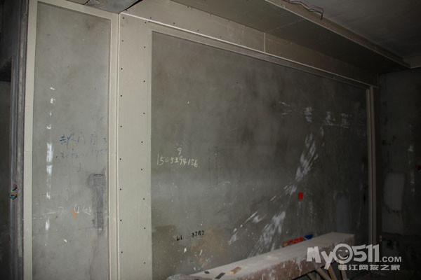 电视背景墙木工框架结构图