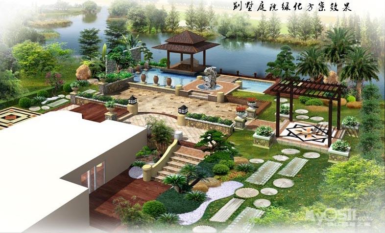 庭院设计小景欣赏