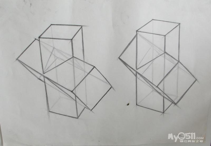 逐步认识什么是结构,体积,透视原理,明暗等有关素描的基础知识,培养