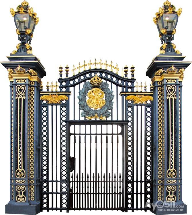 皇家护卫别墅豪宅庭院门