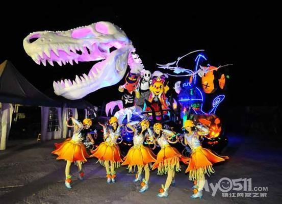 10月31号万圣节夜游恐龙园