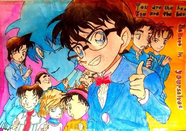 动漫画图片男生-学路网-学习路上 有我相伴